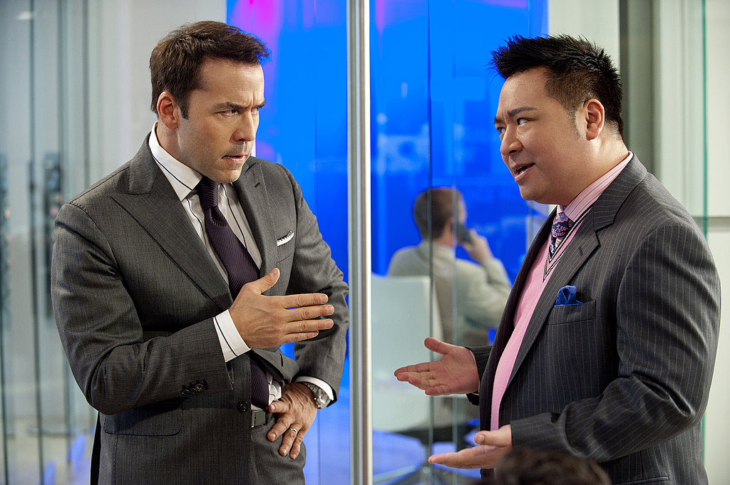 Jeremy Piven as Ari Gold and Rex Lee as Lloyd Lee, Entourage season eight.
