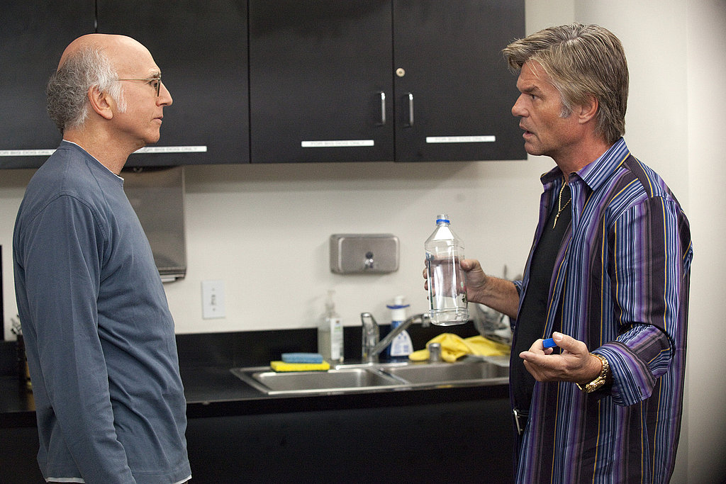 Larry David and Harry Hamlin, Curb Your Enthusiasm season eight.