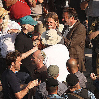 Brad Pitt Pictures Shooting World War Z in Malta