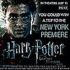 Harry Potter Premiere Ticket Contest