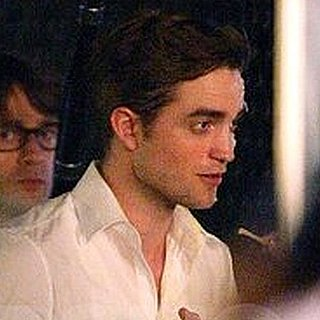 Robert Pattinson on the Set of Cosmopolis [Video]