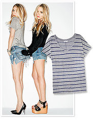 Exclusive First Look: The Olsens' New Stylemint T-Shirt Line!