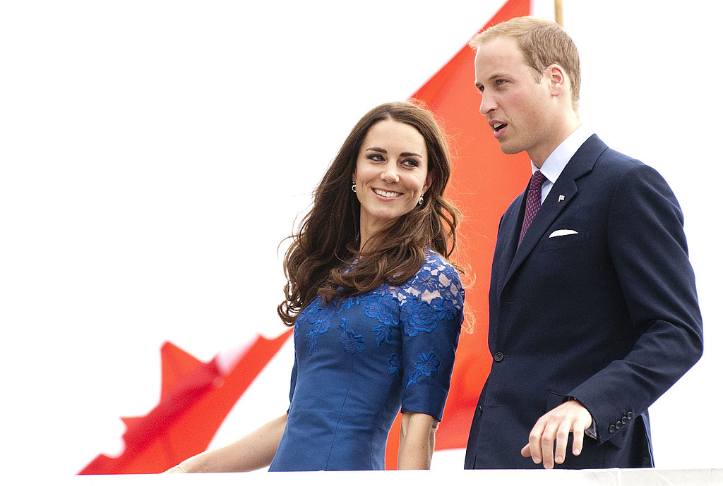 Prince William and Kate Middleton arrive in Quebec City.