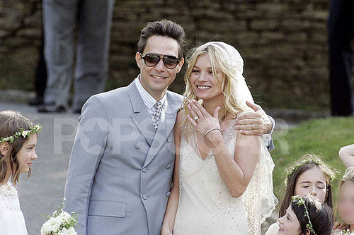 Kate Moss Wedding Dress by John Galliano Pictures