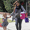 Pregnant Jessica Alba and Honor Warren Hold Hands in LA