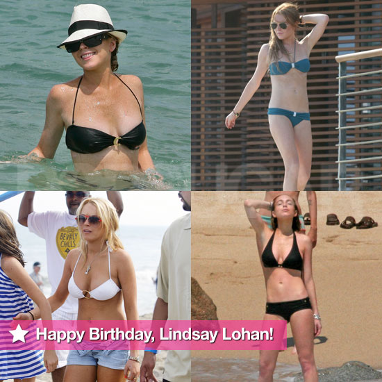 Happy 25th Birthday, Lindsay Lohan — See Her Hot Bikini Moments!