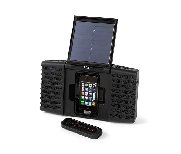 Solar Powered Sound System ($180)