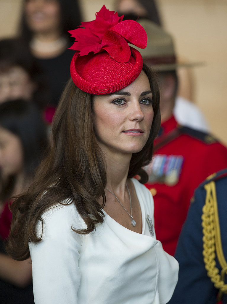 Kate Middleton wore the same Reiss dress from her engagement photos.