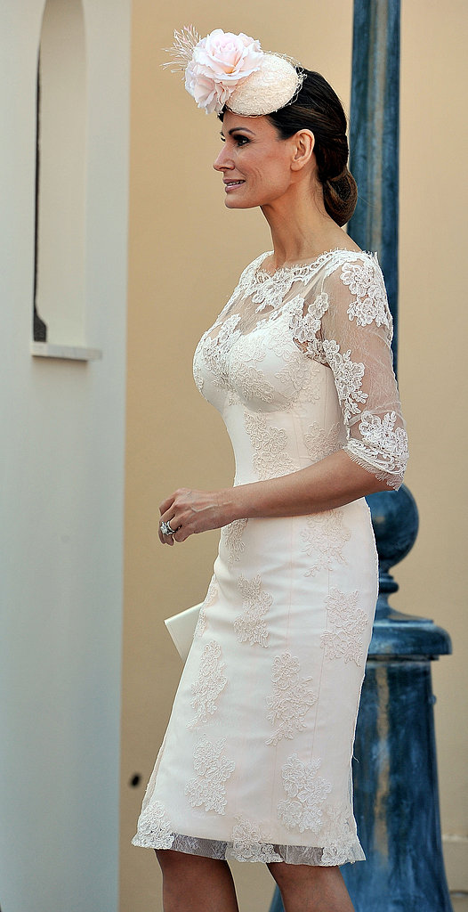 Isabell Kristensen attends the civil ceremony of Princess Charlene of Monaco and Prince Albert II of Monaco.
