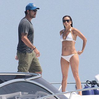 Eva Longoria Bikini Pictures With Eduardo Cruz in Spain