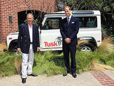 Prince William at the Tusk Trust reception in Beverly Hills.
