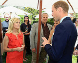 Prince William and Reese Witherspoon at the Tusk Trust reception in Beverly Hills.
