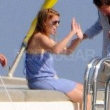 Princess Beatrice in St. Tropez.