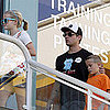 Ryan Phillippe With Ava and Deacon in LA