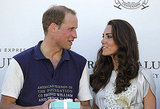Kate Middleton awarded Prince William prizes at the California polo match.