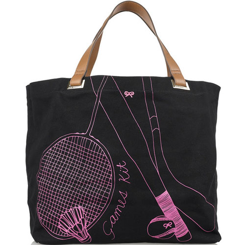 Anya Hindmarch Games Kit Canvas Tote (£95)