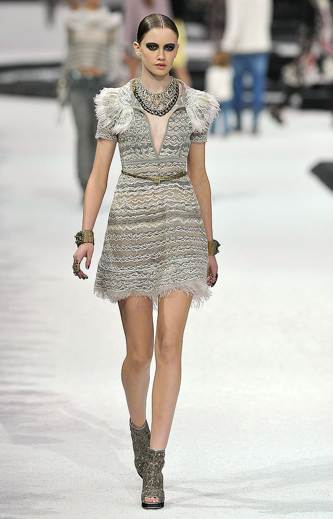 A Baroque pair from the Chanel 2012 Resort collection.