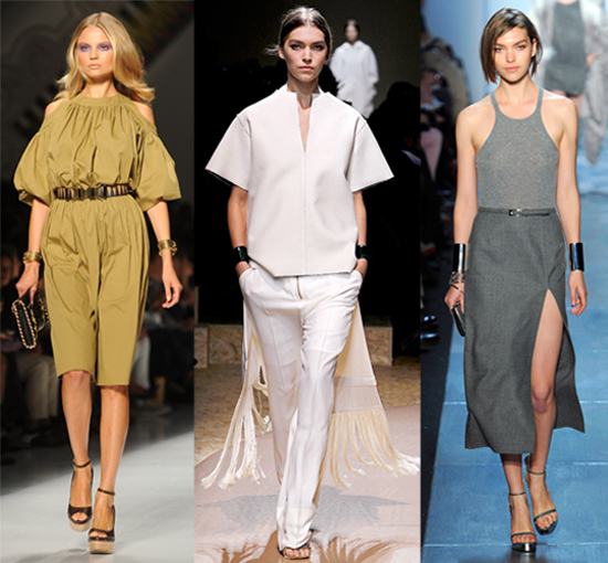 Double cuffs popped up all over both the Spring 2011 and Fall 2011 runways. Here, left to right, styles from Etro Spring 2011, Celine Spring 2011, and Michael Kors Fall 2011.