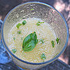 Herb-Infused Bellini Recipe 2011-07-05 17:40:37
