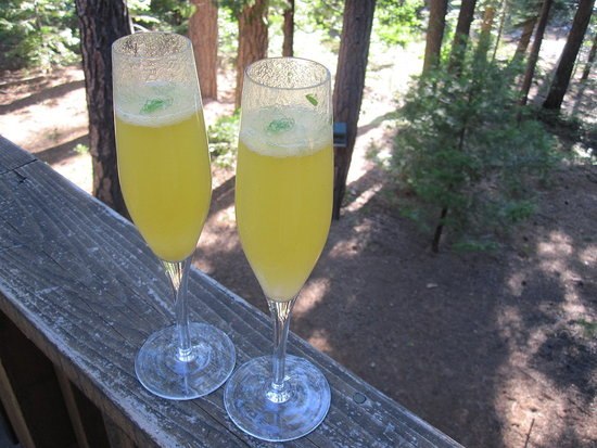 Herb-Infused Bellini
