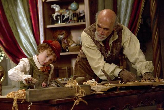 Jakob Davies and Tony Amendola on ABC's Once Upon a Time.  Photo copyright 2011 ABC, Inc.