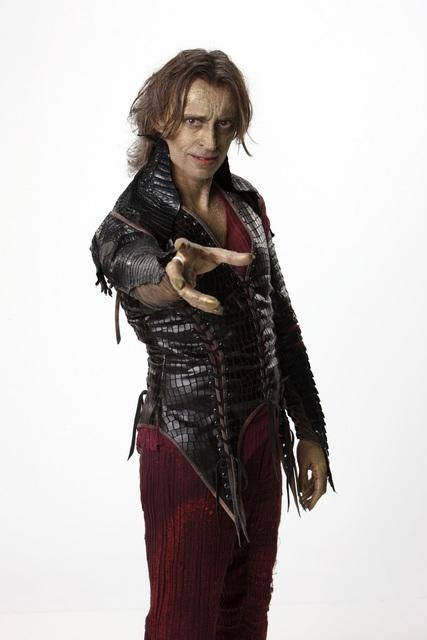 Robert Carlyle as Rumpelstiltskin / Mr. Gold on ABC's Once Upon a Time.  Photo copyright 2011 ABC, Inc.