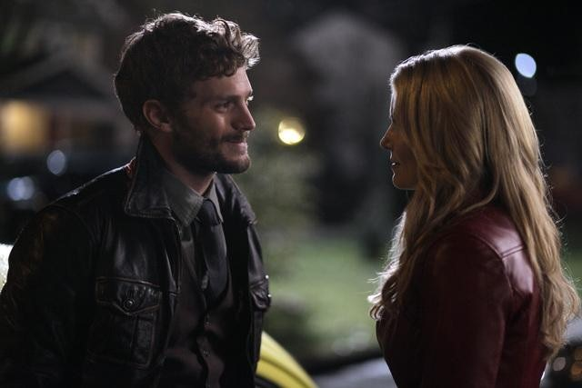 Jamie Dornan and Jennifer Morrison on ABC&#039;s Once Upon a Time.