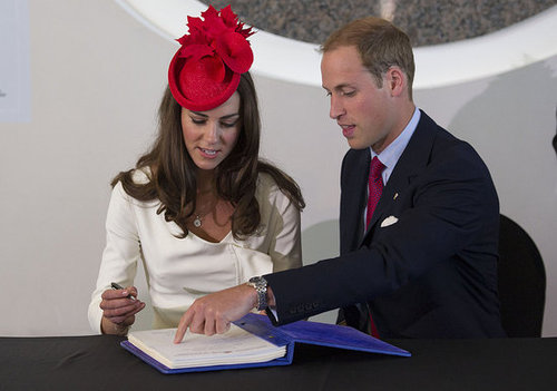 Prince William and Kate Middleton were a team during their Canada Day duties.