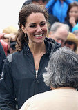 Kate Middleton went for a sporty look on July 4.