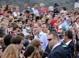 Prince William disembarked from the HMCS Montreal in Quebec City with Kate Middleton on July 3.