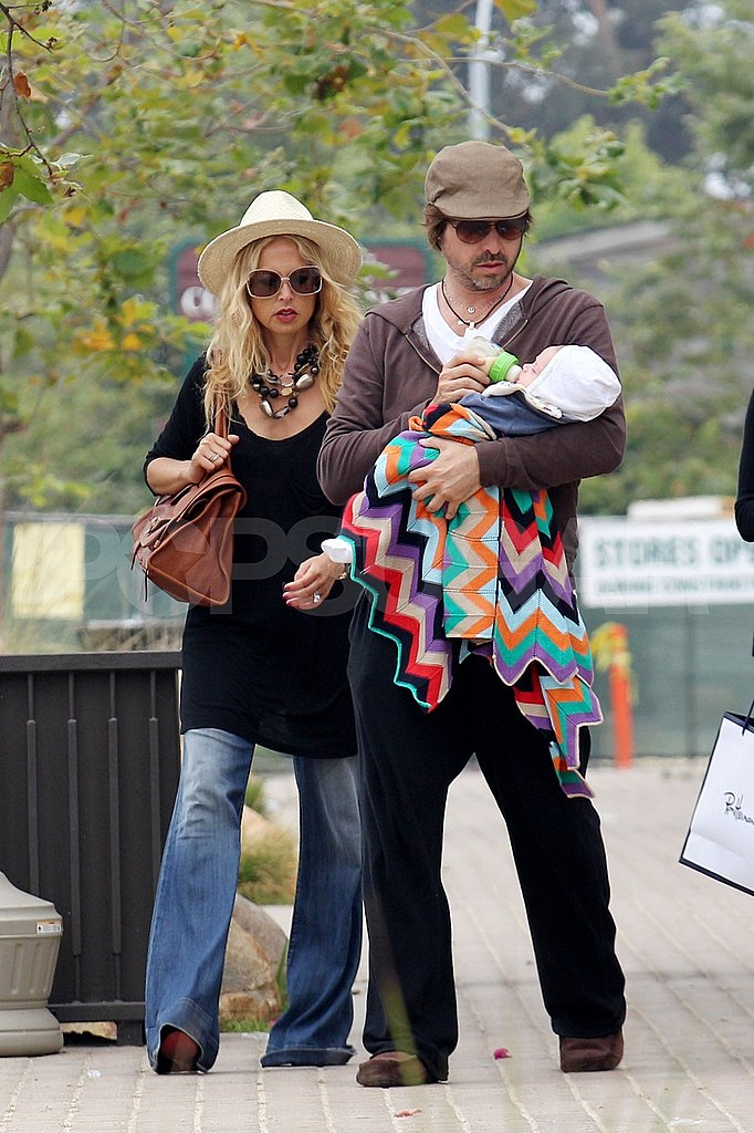 Rachel Zoe and Rodger Berman had Skyler Berman close by their side to shop.