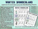 Winter Wonderland Cursive Handwriting Tracers ($2)