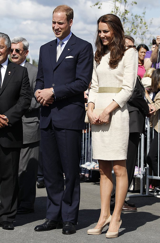 Prince William and Kate Middleton visit the Northwest Territories of Canada.