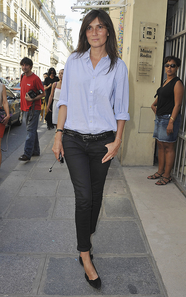 Emmanuelle Alt at Christian Dior