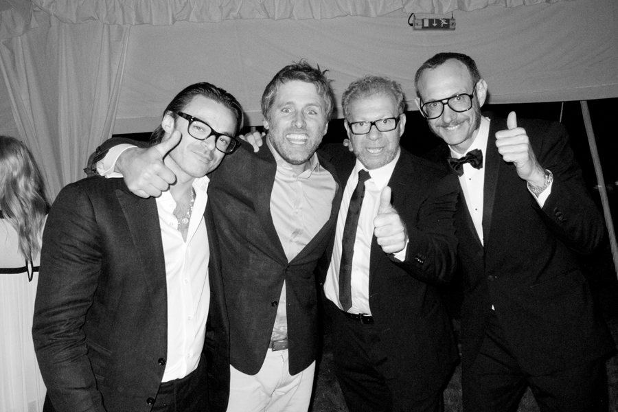 Mario Sorrenti, David Sims, Giovanni Testino, Terry Richardson