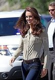 Kate Middleton wears jeans in Canada.