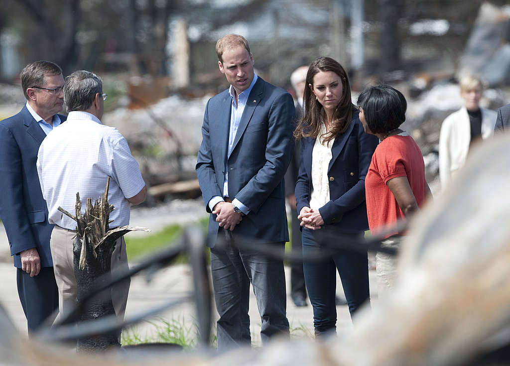 Kate Middleton and Prince William tour Alberta.