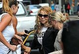 Mariah Carey in NYC after giving birth.