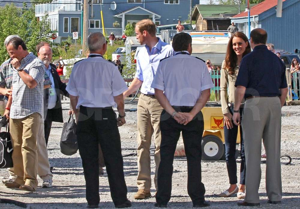 Prince William and Kate Middleton headed for Blackford Lake on July 5.