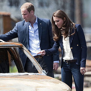 Prince William and Kate Middleton in Alberta Pictures