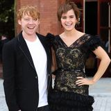 Emma Watson and Rupert Grint at Harry Potter Photocall in London Video