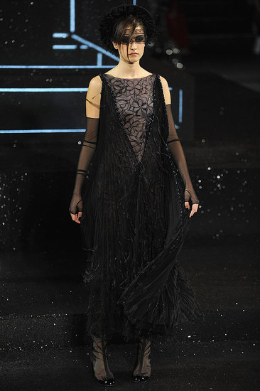 Karl Lagerfeld Delivers a Dark and Decadent Collection For Chanel Fall Couture