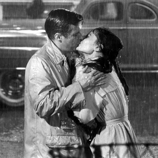 "The iconic kiss between Holly Golightly and ""Fred"" from Breakfast at Tiffany's is one of my favorite movie kisses."