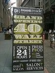 Duane Reade Grand Opening on Wall Street