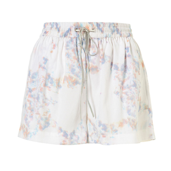 Topshop White Marble Print Shorts, $66    Pair with: