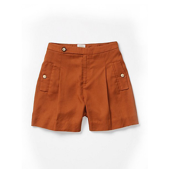 Coquille Brushed Trouser Shorts, $78    Pair with: