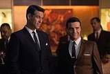 Eddie Cibrian as Nick Dalton and David Krumholtz as Billy on NBC's The Playboy Club.  Photo courtesy of NBC