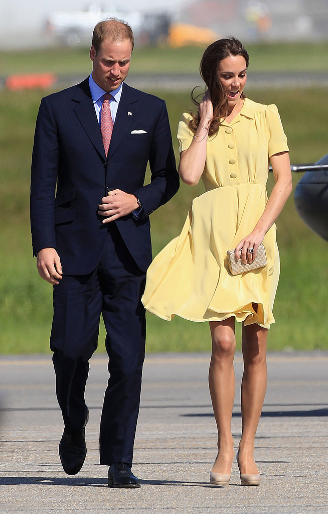 Kate Middleton and Prince William kept close in Calgary.