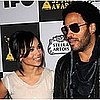 Lenny Kravitz Dishes On Zoe Stealing His Boas, Wearing Skimpy Clothes