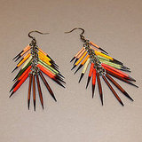 My Salvation Badlands Quill Earrings, $130